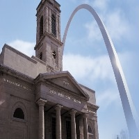 Old Cathedral of St. Louis Winter Day Trips in MO